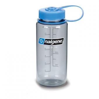 Nalgene Weithalsflasche 0.5 Liter - grauton